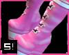 S! Pinkstar boots