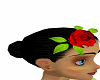 Red Rose Hair decoration