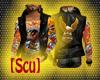 [Scu] H-D Leather Vest