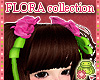 ! FLORA Pink DOLL Roses