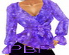 PBF*Classy Purple Blouse