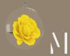 Yellow Rose Globe