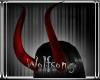 WS ~ Snakeskin Red Horns