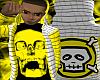 *CA* Yellow Skull Hoody