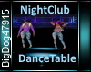 [BD]NightClubDanceTable