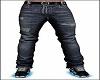 Jeans w Belt