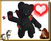 EMO Valentine Bear
