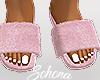 ṩFuzzy Slides Pink