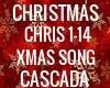 CHRISTMAS SONG CASCADA