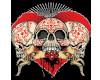 skull san valentino con