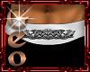 Geo Draco Belt white