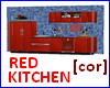 [cor] Red kitchen