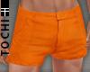 #T Miami Shorts #Orange