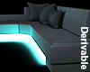 [A] Neon Radiant Couch