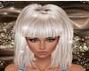 Platinium hair