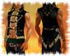 Pirate waistcoat tails