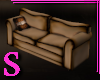 S Harley Worn Club Sofa