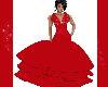 Red Valentine Gown