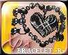 .xpx. Heart Bracelet - R