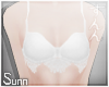 S: Dev   White andro bra