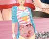 Kawaii Kids Outfit Blue