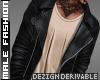 D. Black Leather Jacket