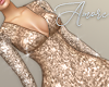 $ Sequin Tan Dress