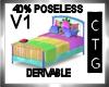 CTG KID BED/40 NO POSEV1