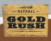 2 sided gold rush wall