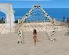 White Wedding Arch 2