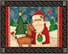 Santa Welcome Mat