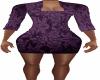 Purple Epik Tight Dress