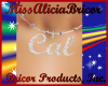 ~A.B~ Cal Necklace