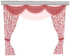 PINK DOUBLE DRAPES