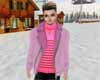 [JD] Pink Suede Jacket