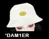 Ꮙ Fashion Hat White