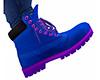 Blue Purple Boots (M)