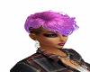 short mixed pink hair