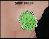 Green Diamond Studs!Req