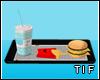 Anim* fastfoodtray