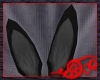 *Jo* Black Bunny Ears