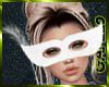 Carnival Mask White