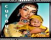 Native Girl & Baby