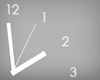 simple wall clock four