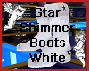 Star Shimmer Boots WHITE