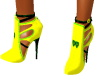 Snazzy Yellow ankle boot