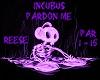 Incubus Pardon Me