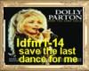 HB save the last  dance