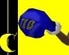 Blue Boxing Gloves
