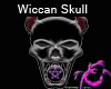 Purple Skull Pentacle